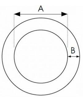 Joints O'Ring - sachet de 100 pcs 2.00 x 0.50 type OM