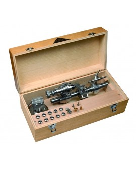 HIGH PRECISION LATHE STAR, REAMING 8 mm / IN WOODEN BOX