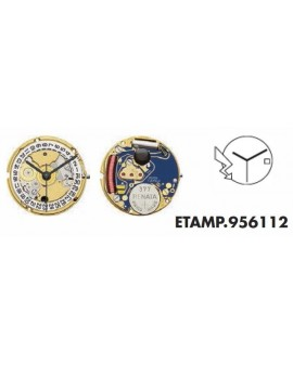 Movement ETA 956112-D 3H...