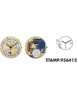 Movement ETA 956412-F 6H...