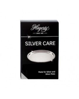 Paste to clean and maintain silver and silver-plated me