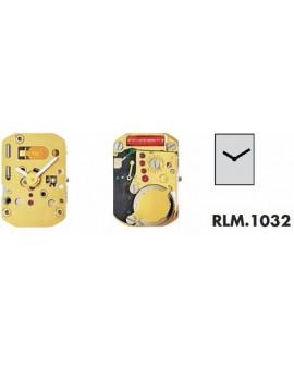 MOUVEMENT RONDA 1032 SWISS MADE, 3 3/4x6''', HAUT3.10