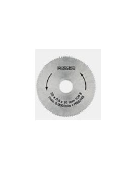 Saw blade made of high-alloy special steel (HSS)