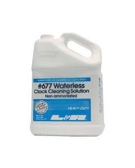 677 WATELESS CLOCK CLEANING...