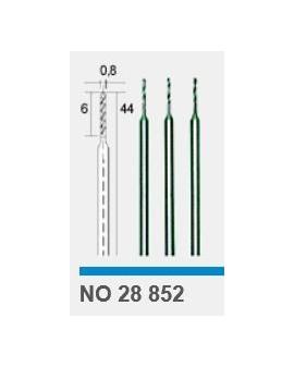 For metal, plastic, wood: HSS drill bits