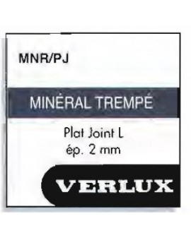 Mineral glass 2 mm with...