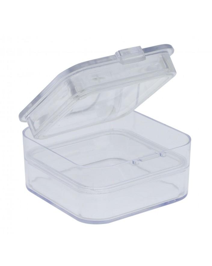 PLASTIC BOX WITH MEMBRANE, 50 x 50 x 25 mm