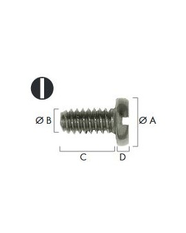 Screw for stainless steel...