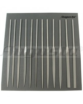 Set of 12 needle files with...