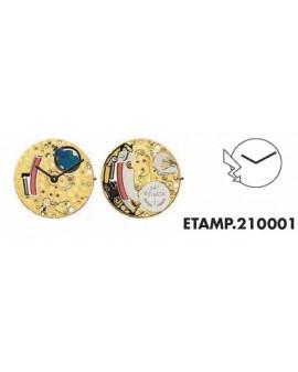Mouvement ETA 210001