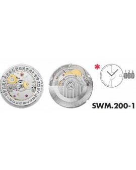 Mouvement Sellita SW200-1 automatique 3H