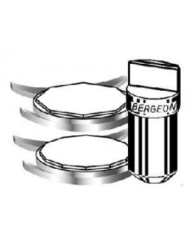 Chiens pour boites à canelures Bergeon 2819-A